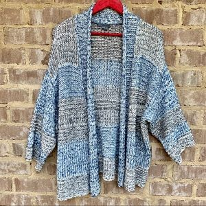 Vince cardigan blue and gray striped. Sz Xs/S